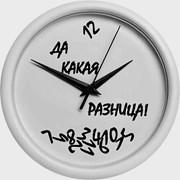 Настенные часы с фотоизображением, логотипом компа фото