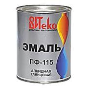 Эмаль красная ПФ 115 Витеко 0,8 кг. фото