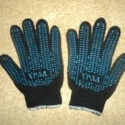Перчатки х/б фото