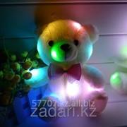 Мягкая святящаяся игрушка Мишка плюшевый фото