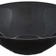 Салатник CARINE BLACK 27см, фарфор /6/ (шт.) фото