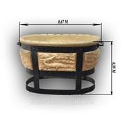 Керамический мангал фото
