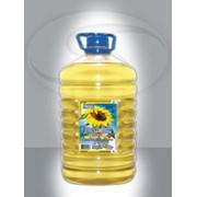 Масло подсолнечное рафинированное фасованное Донская Нива 5 л., высший сорт фото