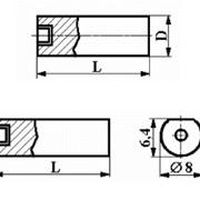 Вставки цилиндрические незаточенные с режущим элементом из Композита-01 (Эльбора-Р) ИС-100 фото