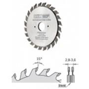 Подрезной диск для форматной пилы 80 мм 20 зубьев фото