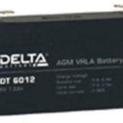 Аккумулятор Delta DT 6012 6V 1.2 фото