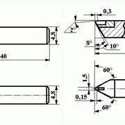 Резцы алмазные для обработки контактных линз ИР328; ИР326 фото