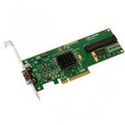 447101-001 Контроллер SAS HP SC40GE [LSI Logic] SAS3042E-HP LSISAS1064E Int-1хSFF8484 (32-pin) 4xSAS/SATA RAID10 U300 LP PCI-E8x фото