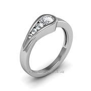 Кольца с бриллиантами D42830-1 фото