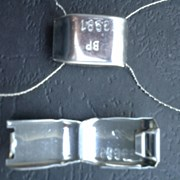 Пломба алюминиевая Клипсил фото