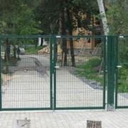 Распашные ворота 3Д сетка 1.53мx4м Выбор цвета фото