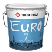 Краска латексная ЕВРО-7 ПВА 0,9л база С фото