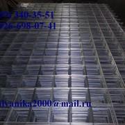 Сетка 150х150х5 2х3м. оцинкованная фото