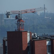 Монтаж башенного крана TST 3150 PS фото