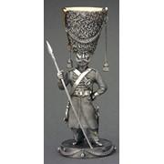 Коллекционная рюмка Казак, серия Российская армия 1812 фото