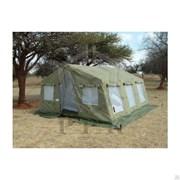Памир 20. Палатка для полевых условий летняя (внешний тент - ткань ПВХ) фото