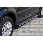 Подножки площадки для VolksWagen Caddy (в стиле BMW X5)