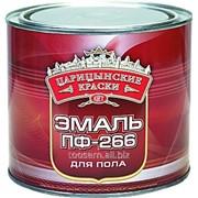 Эмаль для пола красно-кор. ПФ 266 2,7 кг. фото