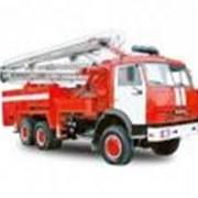 Пожарный пеноподъемник ППП-38-80 (шасси КАМАЗ-6540 6х4) фото