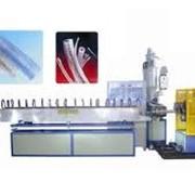 Экструзионная линия для производства усиленной трубы из ПВХ фото