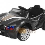Электромобиль River Toys BMW E111KX VIP черный матовый фото