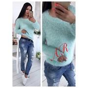 Женский стильный свитер травка, 2 цвета. АР-92-0717 фото