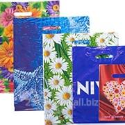 Пакет с вырубной ручкой Подарочный Ажурный 30*45 китай 0933-14 фото