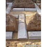 Плиты ленточных фундаментов. Доставка фото