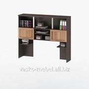 Надстройка для стола, Васко СОЛО-013 Корпус венге, фасад слива/слива фото