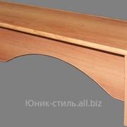 Скамейка к шкафу жесткая М89-6 фото