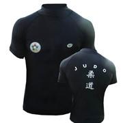 Тайтсы шорты женские LRS-3599 , лайкра, Черные, размер S фото