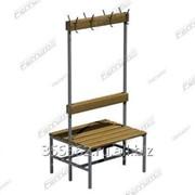 Скамейка с вешалкой двухсторонняя 03.523 фото