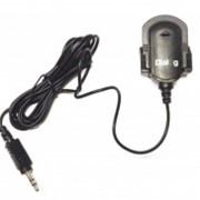 Микрофон Dialog М-100B на клипсе, чёрный (шт.)
