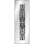 Обработка пескоструйная на 1 стекло артикул 9-02 фото