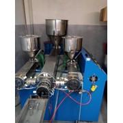 Аппарат для производства коктейльных питьевых соломинок, трубочек фото