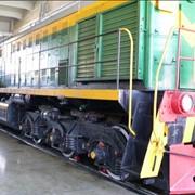 Ремонт железнодорожных локомотивов фото