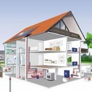 Монтаж систем регулирования теплоснабжения на промышленных и офисных здания фото