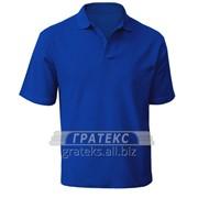 Рубашка-поло мужская, короткий рукав, цвета различные фото