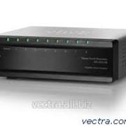 Коммутатор Cisco SB SG200-08 8-port Gigabit Smart Switch (SLM2008T-EU)