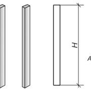 Столбы ограждения и сигнальные фото