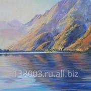 """Картина """"Горное озеро"""""""