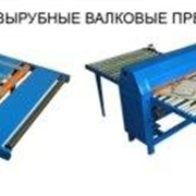 Пресса валковые вырубные ВМ-1800/1100/650 фото