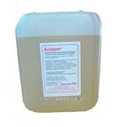 Жидкое щелочное моюще-дезинфицирующее средство с активным хлором Alkadem-B/F канистра 5 кг фото