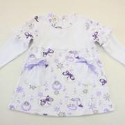 Платье детское 3862 л+и ластик+интерлок, размер 56-104 фото