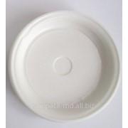 Тарелки белые ,одноразовые фото