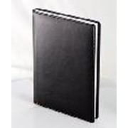 Ежедневник датированный Универсал, 14,5х20,6см, Софт черный фото