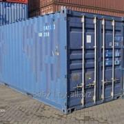 Морской контейнер: аренда фото