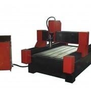 Фрезерно-гравировальный станок с ЧПУ металло- и камнеобработка S1215 со столом фото