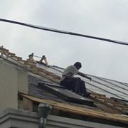 Капитальный ремонт крыши. Монтаж кровли. фотография