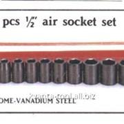 Набор ударных головок SIS-4403 1/2 дюйм, 10шт. CR-VA, 637010 фото